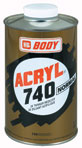 riedidlo ACRYL 740 normal 0,5L