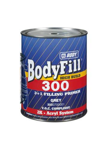 BODY Fill 300 3:1 šedý 1L