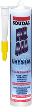 FIX ALL Crystal 290ml transparent
