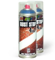 RUST STOP 4V1 RAL3002 saten 400ml