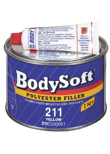 BODY soft 2K polyester filler tmel 1kg